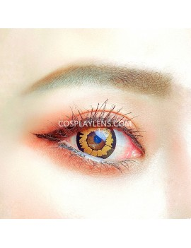Fantasy Honey Brown Unicorn Crazy Cosplay Contact Lenses