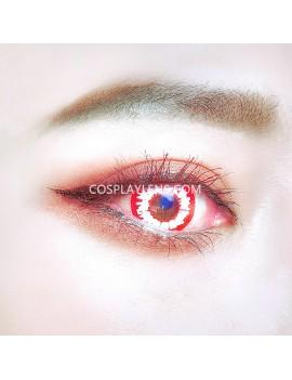 Fantasy White Red Unicorn Premium Cosplay Crazy Contact Lenses