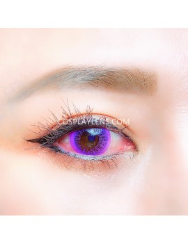 Natural Purple Unicorn Premium Coloured Contact Lenses 14.0mm