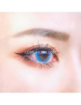 Natural Blue Unicorn Premium Coloured Contact Lenses 14.0mm