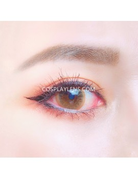 Natural Brown Unicorn Premium Coloured Contact Lenses 14.0mm