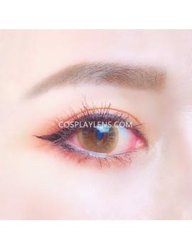 Natural Brown Unicorn Premium Coloured Contact Lenses 14.0mm