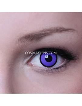 Purple Black Crazy Cosplay Contact Lenses