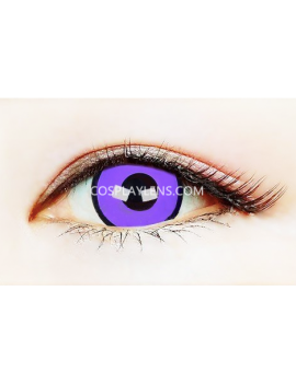 Purple Black Crazy Cosplay Contact Lenses