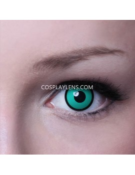 Dark Green Crazy Cosplay Contact Lenses