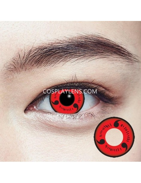 Sharingan Original Crazy Cosplay Contact Lenses