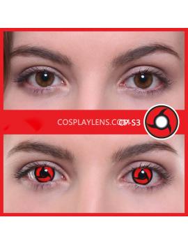 Red Mangekyou Sharingan CrazyCosplay Contact Lenses