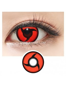 Red Mangekyou Sharingan CrazyCosplay Contact Lenses