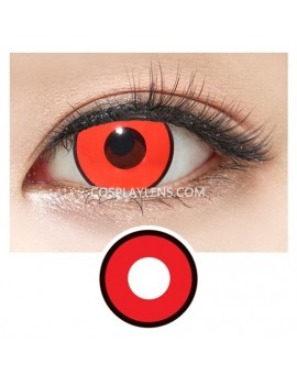 Red Black Halloween Zombie Unicorn Crazy Cosplay Contact Lenses
