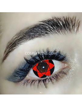 Sasuke Sharingan Red Crazy Cosplay Contact Lenses