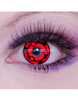 Madara Uchiha Red Sharingan Crazy Cosplay Contact Lenses