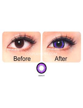 Geo Super Angel Purple Voilet Coloured Contact Lenses