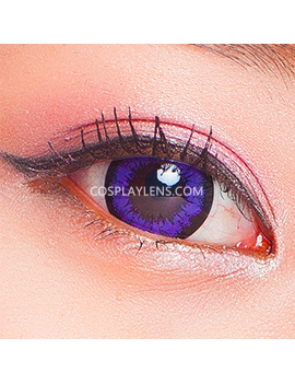 Geo Super Angel Purple Voilet Coloured Contact Lenses