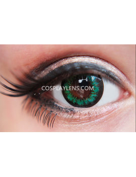 Geo Super Angel Green Coloured Contact Lenses