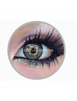 Geo Super Angel Grey Circle Coloured Contact Lenses
