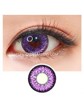 Geo Super Nudy Purple Voilet Circle Coloured Contact Lenses
