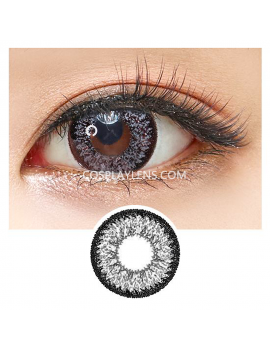 Geo Super Nudy Grey Circle Coloured Contact Lenses