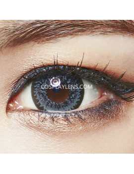 Geo Super Nudy Grey Circle Coloured Contact Lenses