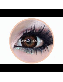 Geo Brown Bella Circle Coloured Contact Lenses