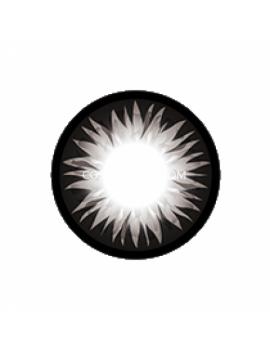 Geo Grey Bella Circle Coloured Contact Lenses