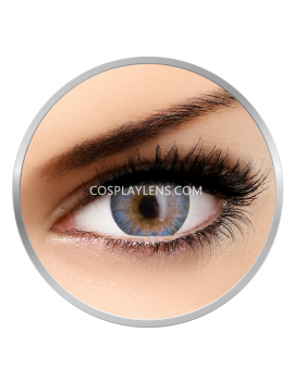 Natural Airy Blue Coloured Contact Lenses