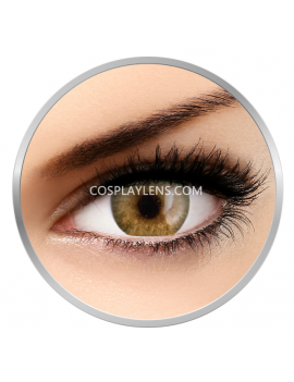 Natural Golden Brown Coloured Contact Lenses