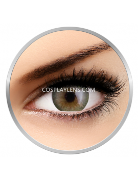 Natural Lime Green Coloured Contact Lenses
