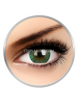 Big Eye Natural Paris Green Coloured Contact Lenses