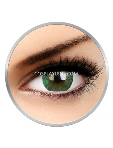 Big Eye Natural Paris Green Coloured Contact Lenses