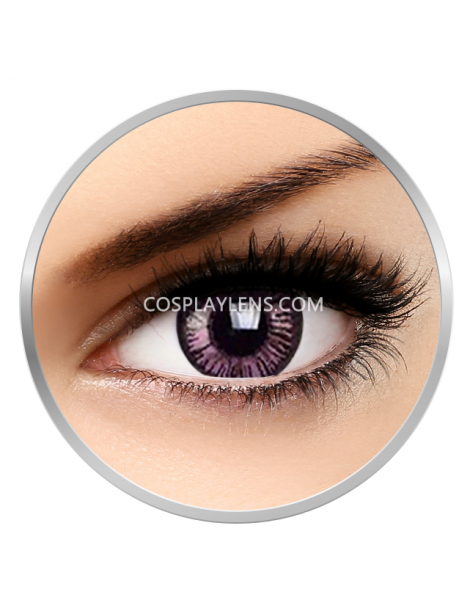Big Eye Natural Passionate Purple Coloured Contact Lenses