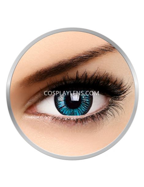 Big Eye Natural Beautiful Blue Coloured Contact Lenses