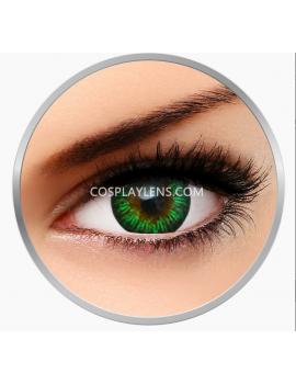 Natural Enchanter Green Coloured Contact Lenses
