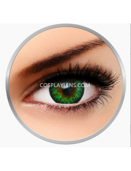 Natural Enchanter Green Coloured Contact Lenses