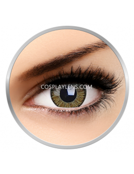 Natural Vivid Brown Hazel Coloured Contact Lenses