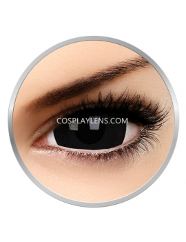 Black Titan Mini Sclera 17mm Crazy Cosplay Contact Lenses