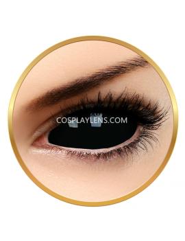 Black SABRETOOTH Sclera 22mm Crazy Cosplay Contact Lenses