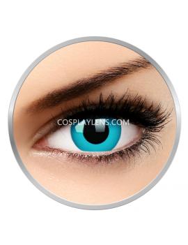 UV Blue Crazy Cosplay Contact Lenses