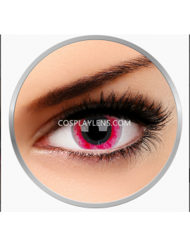 Zombie Red White Black Crazy Cosplay Contact Lenses