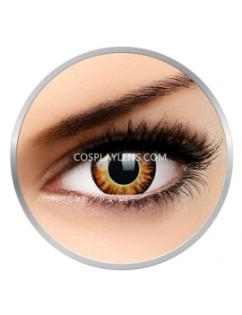 Twilight Orange Crazy Cosplay Contact Lenses