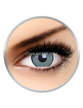 Grey Grim Reaper Crazy Cosplay Contact Lenses