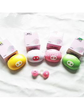 Cute Pig Travel Contact Lens Case Storage Kit