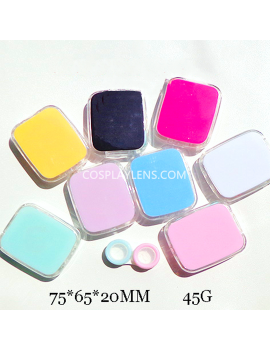 Hot Pink Black Blue Travel Portable Contact Lens Case Storage Kit