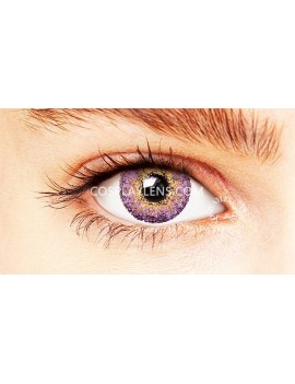 Natural Elegant Purple Coloured Contact Lenses 14.5mm