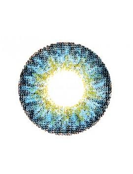 Natural Elegant Blue Coloured Contact Lenses 14.5mm