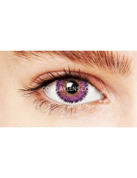 Natural Fairy Purple Unicorn Coloured Contact Lenses 14.5mm