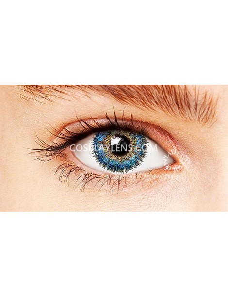 Natural Fairy Blue Coloured Contact Lenses 14.5mm