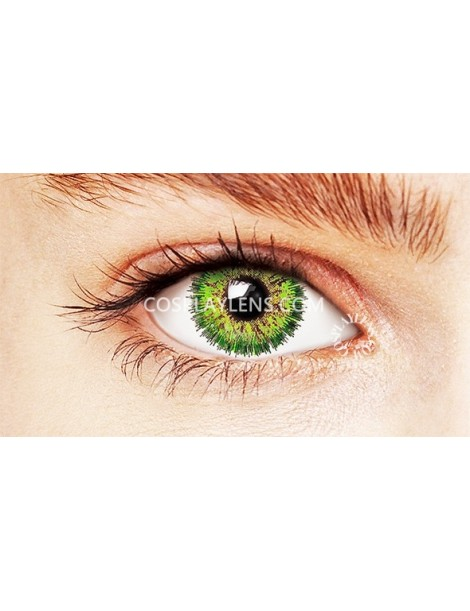 Natural Fairy Green Coloured Contact Lenses 14.5mm