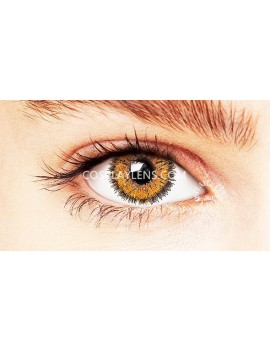 Natural Fairy Brown Unicorn Coloured Contact Lenses 14.5mm