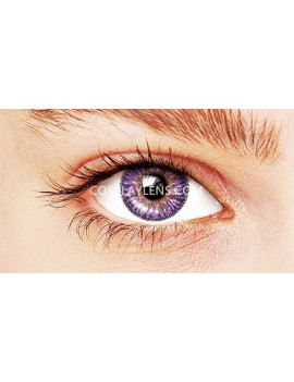 Ocean Purple Natural Coloured Contact Lenses 14.5mm