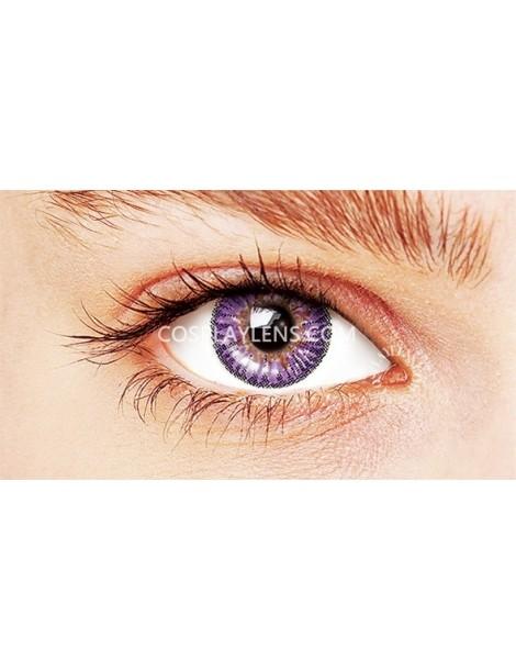 Ocean Purple Natural Coloured Contact Lenses 14.5mm